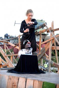Lady L'amour Beim Darbietungsabend Take#3; Foto: Oliver Klauser