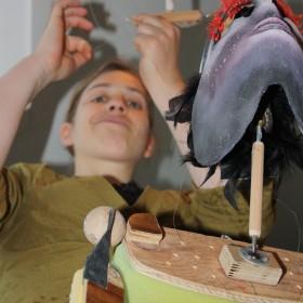 beim Bau meiner ersten Kopf-Schulter-Marionette