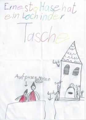 Bild von 2. Klässlerin der Albert-Schweitzer-Grundschule