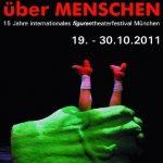 Figurentheaterfestival 'über MENSCHEN' 2011 Logo, Quelle: Kulturundspielraum De