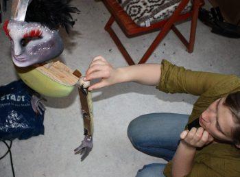 Marionette Ohne Kostüm