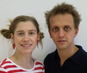 Julia Raab und Stefan Wenzel