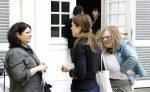 Die Dicke Nimmt Kontakt Mit Den Teilnehmern Auf; Foto: Arkadij Koscheew
