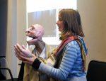 """Coline Mit Sino """"Die Magie Der Puppe"""" Workshop Mit Neville Tranter"""