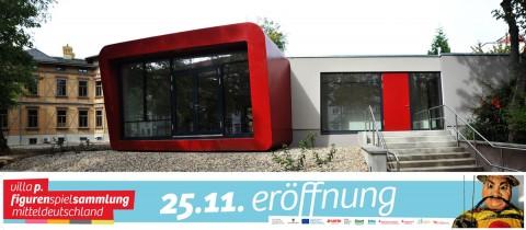 Figurenspielsammlung Mitteldeutschland in der villa.p Magdeburg; Quelle: puppentheater-magdeburg.de