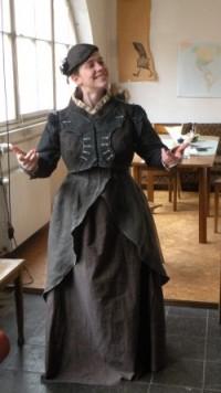 So sehe ich im Kostüm aus; Projekt 'Wunderkammer'