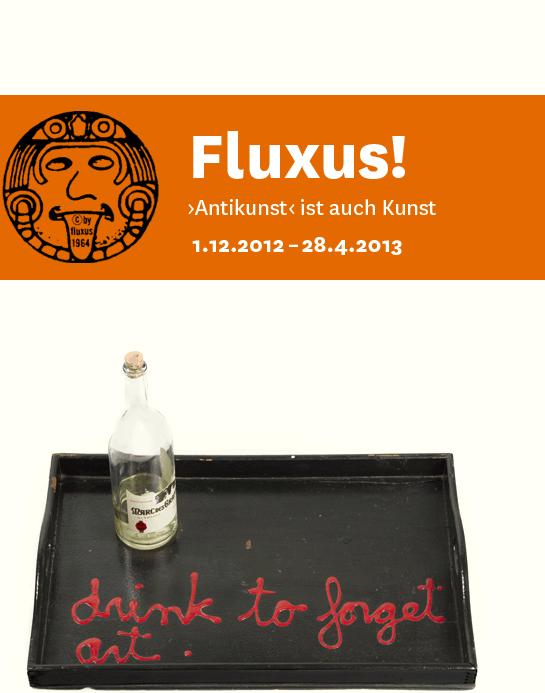 Fluxus-Ausstellung; Quelle: staatsgalerie.de