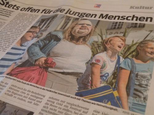 Die Dicke in der Presse; Vorarlberger Nachrichten