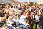 """Szenenfoto """"Die Dicke - Der Walkact"""" auf Norderney"""