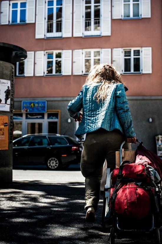 """Szenenfoto """"Die Dicke - Der Walkact"""" in Feldkirch, Österreich"""