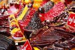 Iranischer Süßigkeitenstand