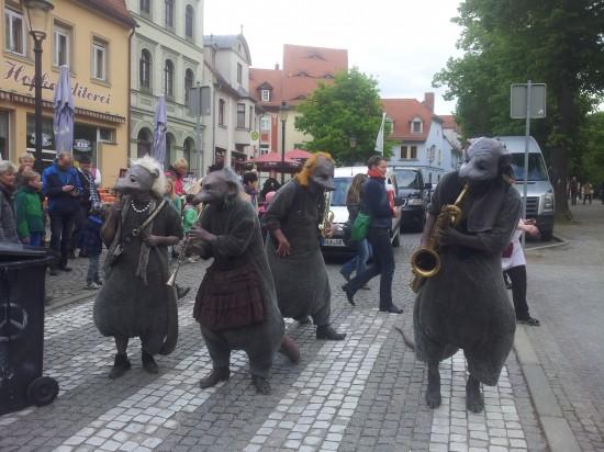 'Die Ratten' von PasParTout in Naumburg