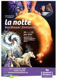 Plakat 'La notte'