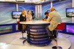Fernseh-Interview im TV Canal Algerienne