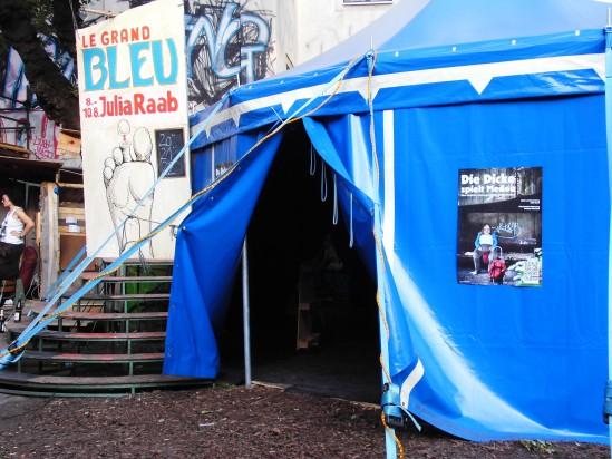 'Le Grand Bleu', Schaubudensommer Dresden