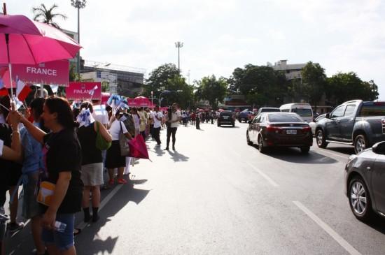 Eröffnungsparade in Bangkok