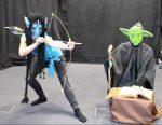 Szenenfoto 'GESICHTSLOS', Maskenspiel-Präsentation SP03/14 der Johanniter-Akademie Leipzig