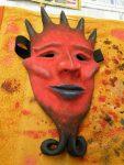 Maske 'Mephisto' von Svenja
