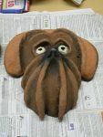Maske 'Hund' von Laura