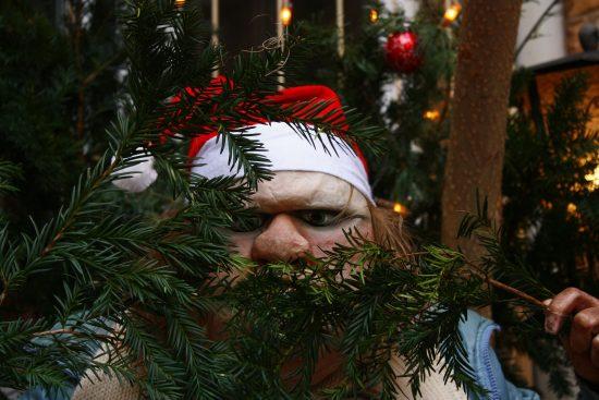 'Die Dicke' wünscht frohe Weihnachten; Foto: Carsten Bach