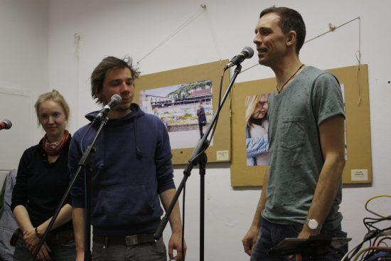 Oli und Stefan von Hörspiel auf Verlangen im Atelier fiese8