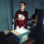 Animationskünstler Yves Paradis am Polilux