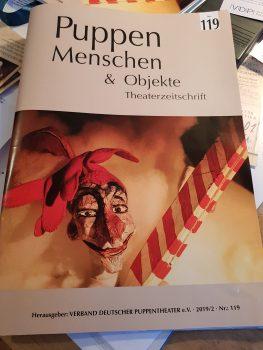 Zeitschrift 'Puppen Menschen & Objekte'