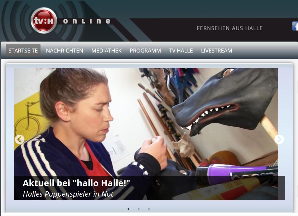 Beitrag 'Künstler in Not' von TV Halle