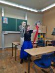 """Dreh für Videodokumentation der Produktion """"Seid bereit - immer bereit? Jung sein in der DDR"""" mit Figurenspielerin Julia Raab und ihren Puppen Erich Mielke & Margot Honecker"""
